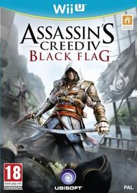Assassin's Creed IV: Black Flag (Wii U) - Cover