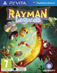 Rayman Legends (PS VITA) - Cover