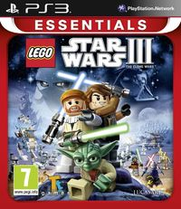 Lego Star Wars III: The Clone Wars (PS3) - Cover