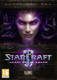 StarCraft II: Heart of the Swarm (PC) - Cover