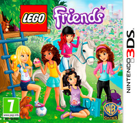 LEGO Friends (3DS) - Cover