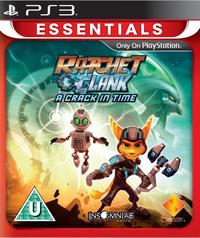 Ratchet & Clank: A Crack In Time (PS3) - Cover