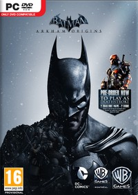 Batman: Arkham Origins (PC) - Cover