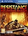 Resistance: Burning Skies (PS VITA) Cover