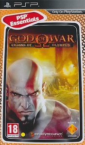 God of War: Chains of Olympus (PSP) - Cover