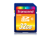 Transcend High Performance SDHC Class 10 Memory Card - 32GB