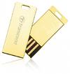 Transcend JetFlash T3 USB 2.0 Thin Ultra-Compact Flash Drive - 32GB Gold