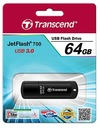 Transcend JetFlash 700 USB 3.0 Super Speed Flash Drive - 64GB