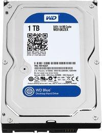 WD Blue Desktop Internal Hard Drive - 1TB SATA 6GB/s 7200rpm - Cover