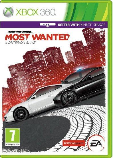 Need for speed most wanted xbox 360 replacement case no game.