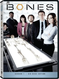 Bones - Season 1 (DVD) - Cover