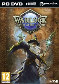 Warlock: Master of the Arcane (PC) - Cover