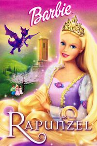 Barbie as Rapunzel (DVD) - Cover