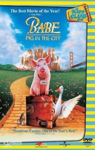 Babe: Pig in the City (DVD) - Cover
