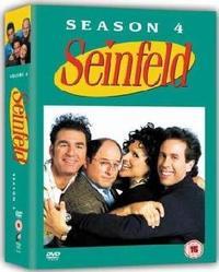 Seinfeld - Season 4 (DVD) - Cover