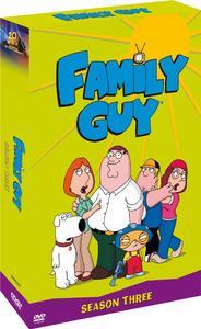 Family Guy - Season 3 (DVD) - Cover