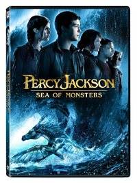 Percy Jackson: Sea of Monsters (DVD) - Cover