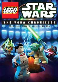 Lego Star Wars: The Yoda Chronicles (DVD) - Cover