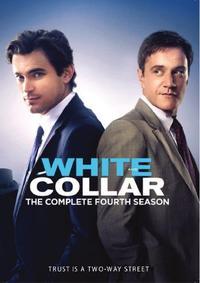 White Collar - Season 4 (DVD) - Cover