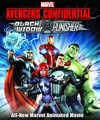 Avengers Confidential: Black Widow & Punisher (DVD) Cover