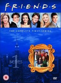 Friends - Season 1 (DVD) - Cover