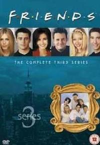 Friends - Season 3 (DVD) - Cover