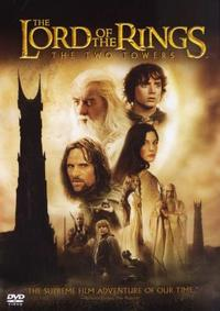 Lord Of The Rings - The Two Towers (DVD) - Cover