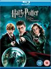 Harry Potter & The Order Of The Phoenix (Blu-ray) Cover