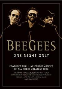 Bee Gees - One Night Only (Region 1 DVD) - Cover