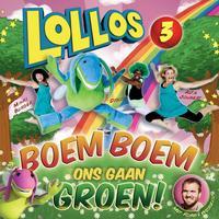 Alta Joubert / Minki Burger - Lollos 3- Boem Boem Ons Gaan Groen (CD) - Cover