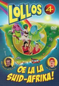 Alta Joubert / Minki Burger - Lollos 4- Oe La La Suid-Afrika (DVD) - Cover