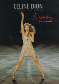 Celine Dion - Live In Las Vegas - a New Day... (DVD) - Cover