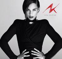 Alicia Keys - Girl On Fire (CD) - Cover