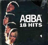 Abba - 18 Hits (CD) - Cover