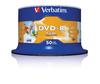 Verbatim Wide Photo Printable No ID Brand 4.7GB DVD-R (16x) - 50 Pack Spindle