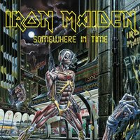 Iron Maiden - Somewhere In Time (CD) - Cover