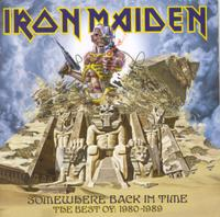Iron Maiden - Somewhere Back In Time - the Best of: 1980-1989 (CD) - Cover