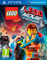The LEGO Movie Videogame (PS VITA) - Cover
