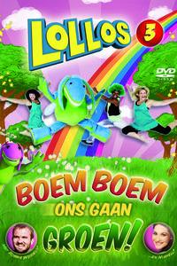 Lollos - Boem Boem Ons Gaan Groen (DVD) - Cover