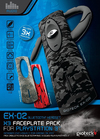 Gioteck EX-02s Wireless Bluetooth Headset with 3 Faceplates (PS3)