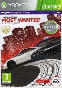 Need for Speed - Most Wanted (2012) (Xbox 360) - Cover
