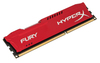 Kingston HyperX Fury Series Memory - 4GB DDR3-1600MHz - Red