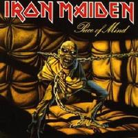 Iron Maiden - Piece of Mind (CD) - Cover
