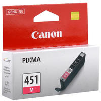 Canon CLI-451 - Magenta Single Ink Cartridges - Standard