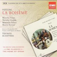 Various Artists - Opera Series: Puccini - La Boh (CD) - Cover