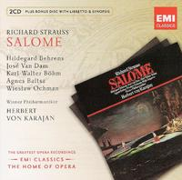 Various Artists - Opera Series: Strauss - Salome (CD) - Cover