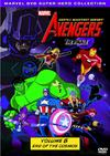 Avengers - Vol 8: End Of The Cosmos (DVD) Cover
