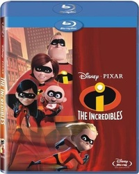 The Incredibles (Blu-ray) - Cover