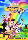 Mickey Mouse Club: Mickey's Colour Adventure (DVD) Cover