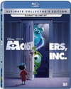 Monsters Inc. (3D Blu-ray) Cover